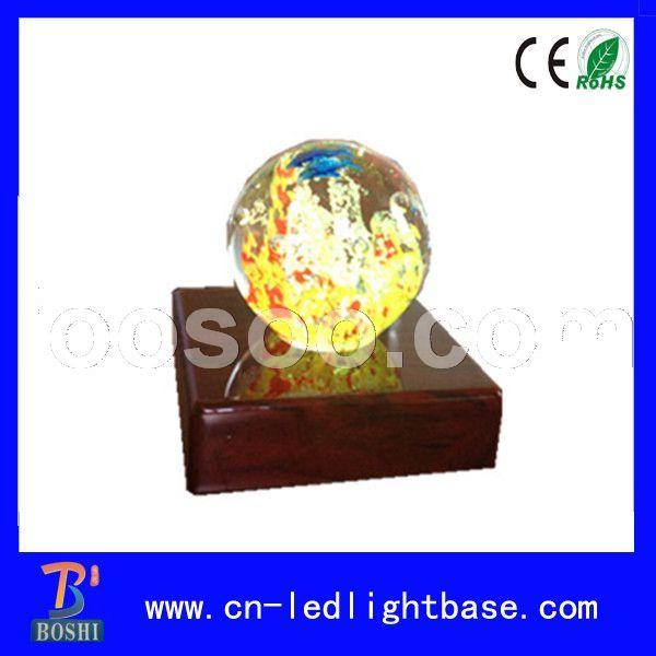 水晶玻璃底座